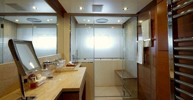 Yacht Arion en suite