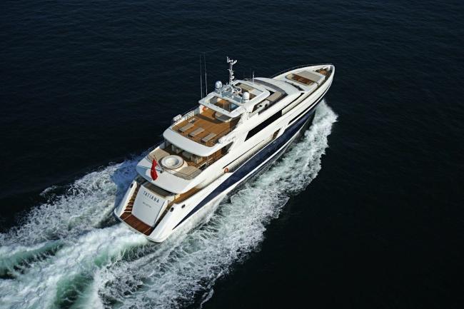 Yacht tatiana aerial 2