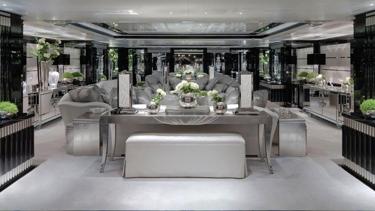 Silver-Angel-Benetti-Yacht-For-Charter-Salon