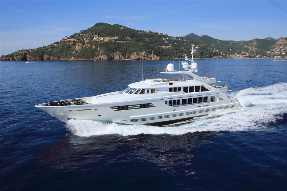 Isa Yachts Motor Yacht Rola For Sale