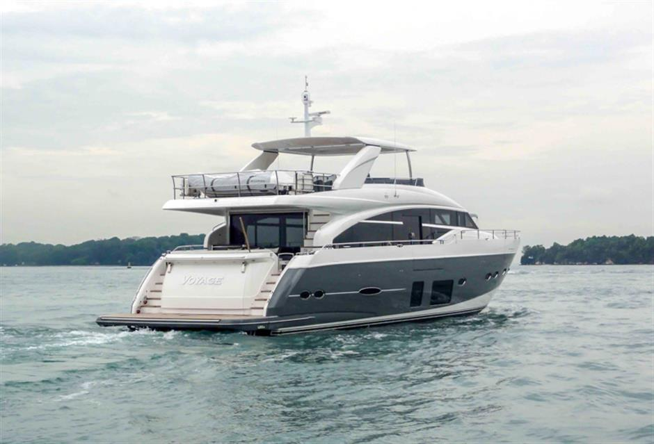 Princess Yachts Motor Yacht Voyage For Sale